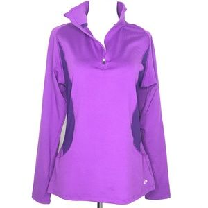 Champion Semi-Fitted Purple Pullover Shirt A130347